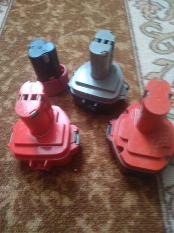 Батерии макита 12в и 14,4внеработещи за рециклиране