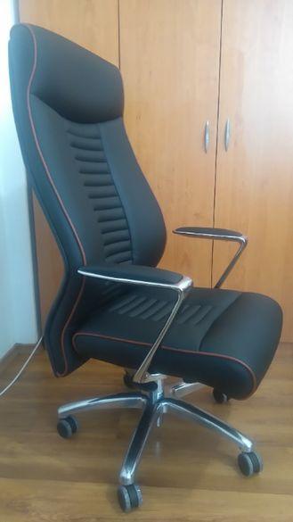 Директорски стол КОТРАГ LTS 06 от Еко Кожа за Високи и Едри Хора