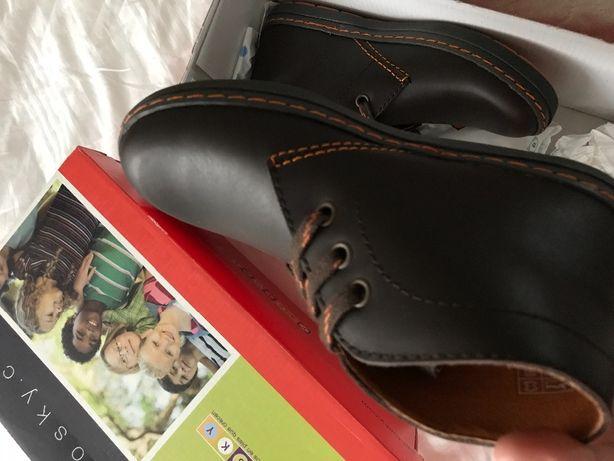 Кожаные ботинки испанского бренда pablosky