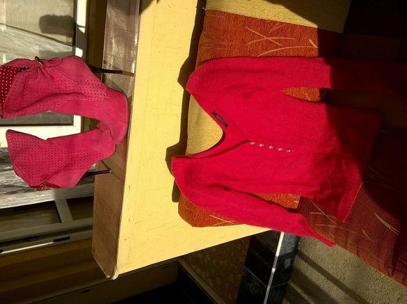 Сет блуза и боти