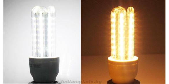 LED крушки светодиодни 24w E27 . Най-ярките светодиоди ЛЕД 5630