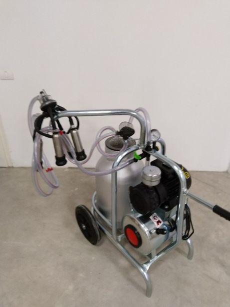 Mulgatoare, aparat de muls vaci 1 posturi/1 bidon aluminiu 30/40L 6,6