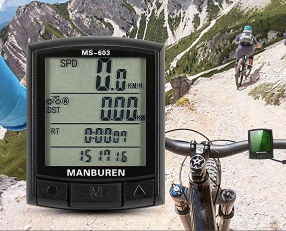 Дигитален компютър/километраж за велосипед или Мотор  Manburen