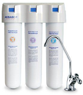 Фильтр для умягчения воды АКВАФОР КРИСТАЛЛ    ( доставка бесплатно)