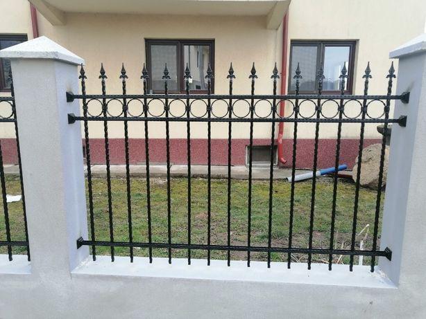 Porti Garduri Fier Forjat, Confectii Metalice Stil Industrial