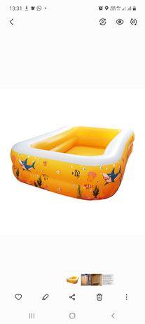 Продам детский надувной бассейн 2×1,5