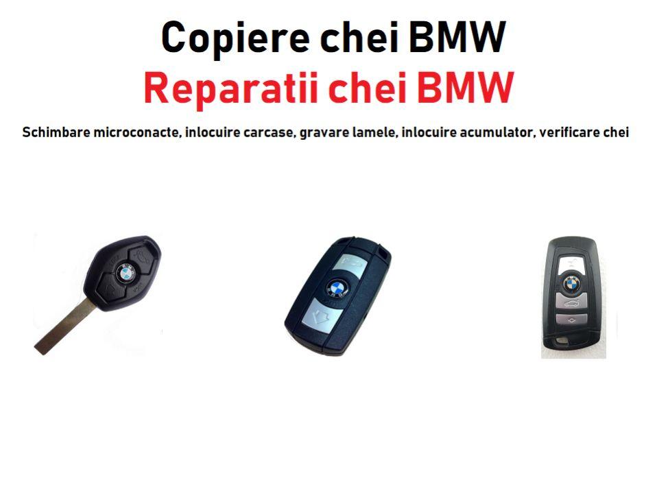 Chei / Cheie BMW e46, e90, e60, x3, x5 Bucuresti - imagine 1