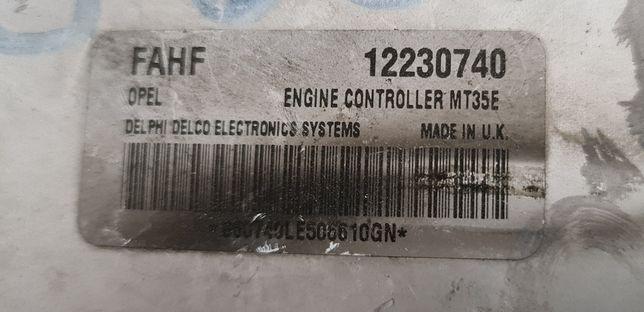 Calculator ECU motor opel astra h 1.6 benzina z16xep MT35E 12230740
