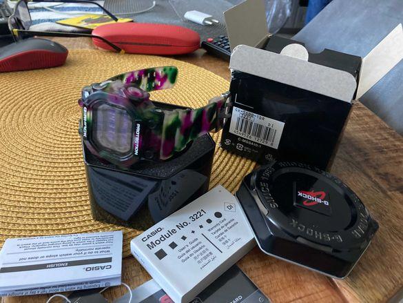 Часовник CASIO G SHOCK  GX-56BB-1DR -къстъм шоп- чисто нов