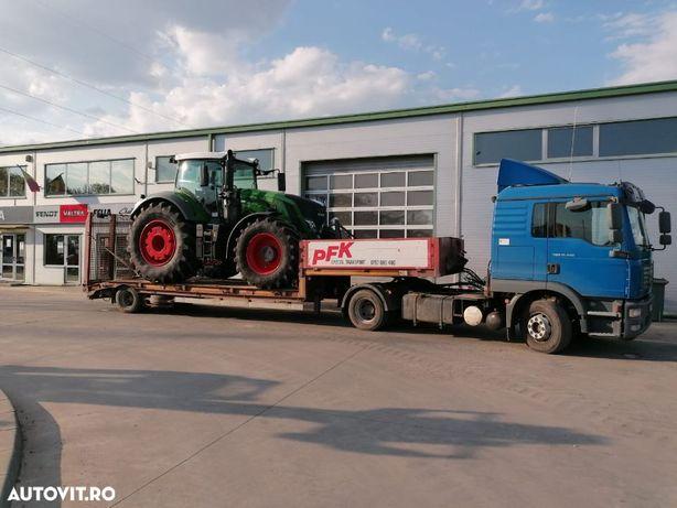 Cap tractor MAN TGM 2008 + trailer Fliegl 13 tone