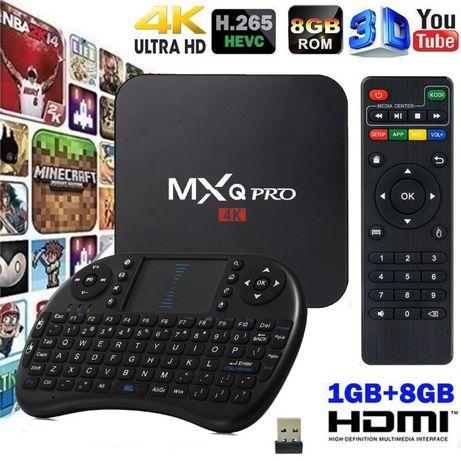 Андроид приставка твбокс MXQ PRO 4K