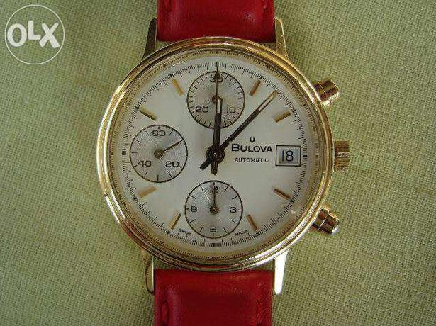Ceas Automatic BULOVA Chronograph Valjoux 7750 - AUR 18k