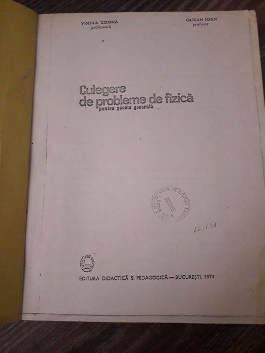 Culegere de fizica veche 1974