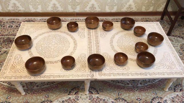 Казахские столы
