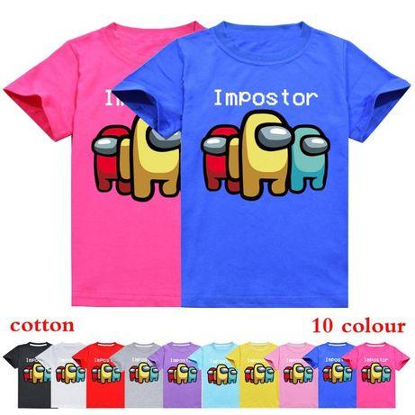 NEW 2021! Детски тениски AMONG US / АМОНГ 7 модела! НАД 10 ЦВЯТА