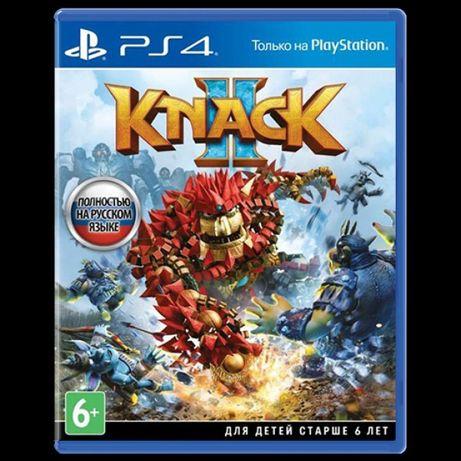 PS4 KNACK2  диск