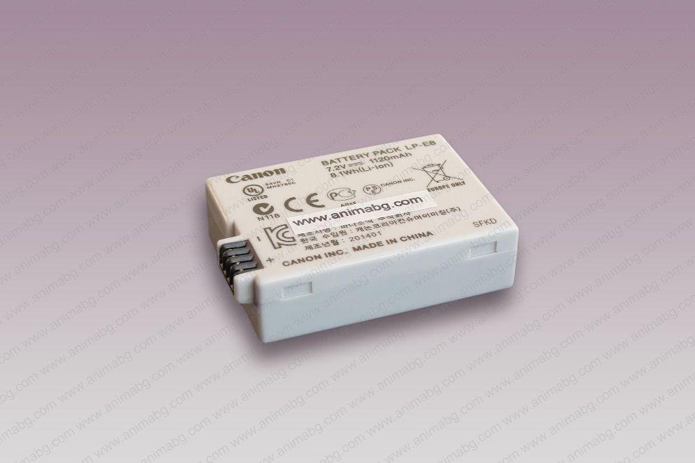 ANIMABG Батерия модел LP-E8 за CANON