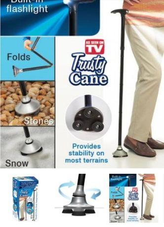 Сгъваем бастун, Trusty cane