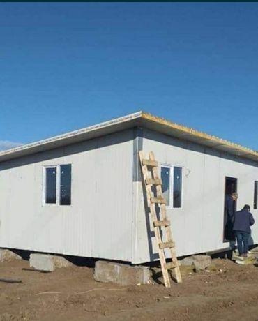 Vând și fac case pe structura metalica și pe structura de lemn orice