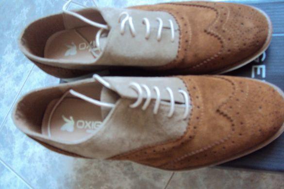 Продавам № 37 чисто нови от естествен велур испански обувки
