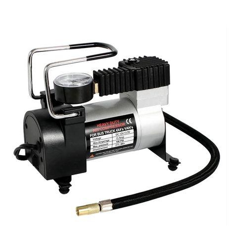 Въздушен Компресор за Автомобилни Гуми 12V 100Psi с Накрайници