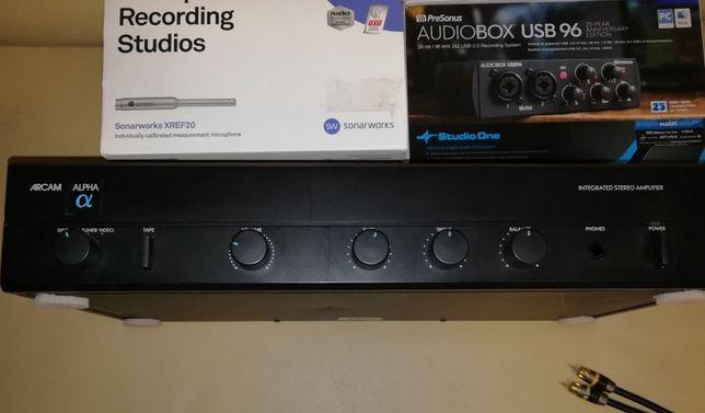 Arcam Alpha 2 Stereo Integrated Amplifier 1989 cu boxe tangent