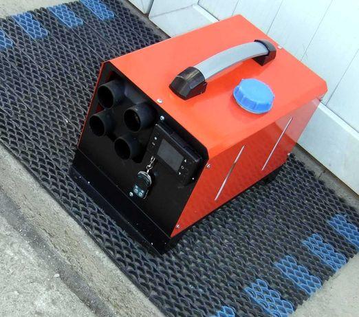 Автономная печка обогреватель. Автономка дизельная, мобильная.