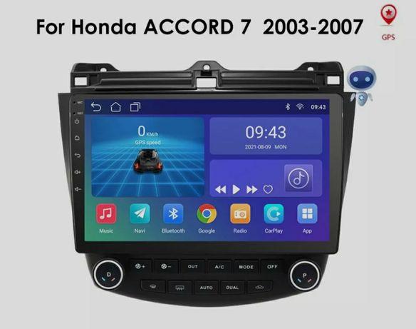 Мултимедия Хонда акорд Андроид Honda Accord GPS Навигация
