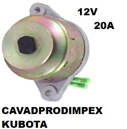 Alternator cu magnet permanent tractor 12V,KUBOTA ym1500d