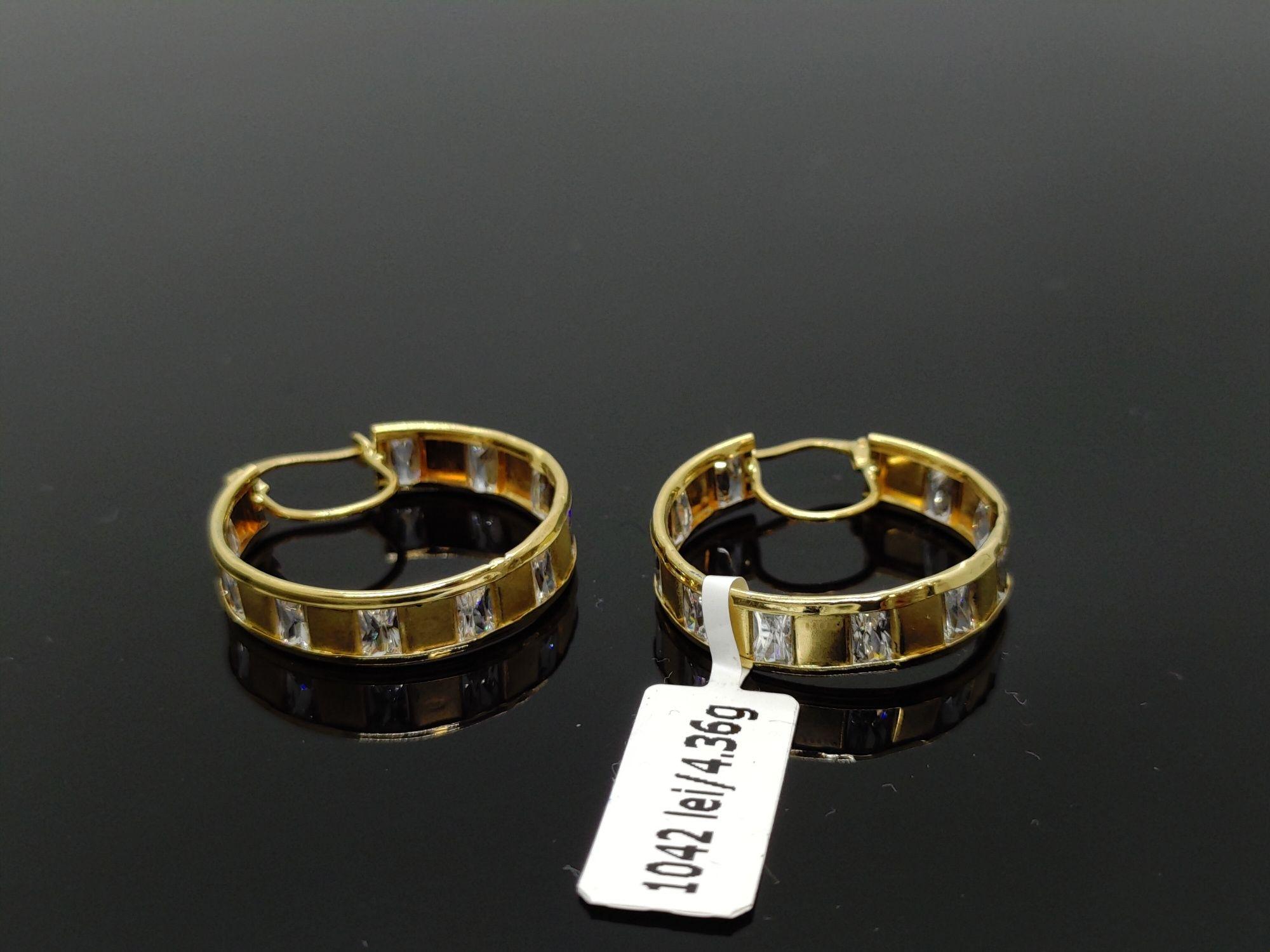 Amanet Royal: Cercei aur 18k/4,36 gr