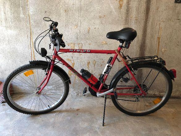 Велосипед (мъжки) 26 цола, тип trekking/градски - уникален