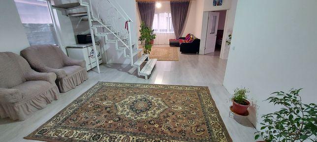 Дом в Алгабасе 2 уровн.+времянка благоустроенного типа  3-х.комн.