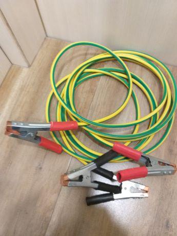 Стартови кабели 35 мм2  за подаване на ток   на камион бус палене