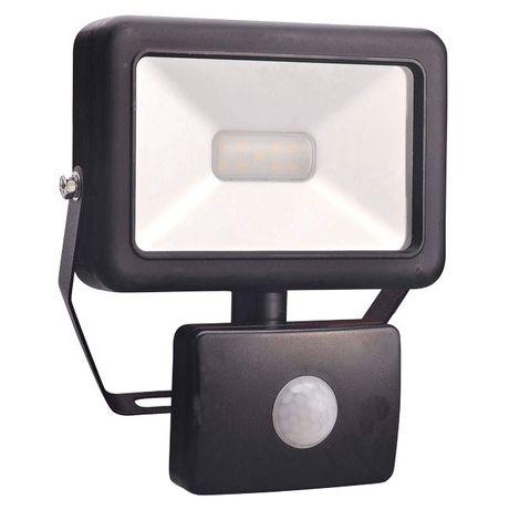 LED външен прожектор с детектор за движение STAR, 20W, 1400lm, 6500K