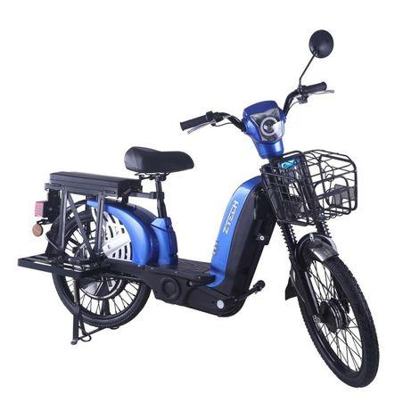 Bicicleta Electrica Z-Tech ZT-01, Motor 480 W, 48V, Autonomie 35 km