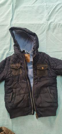 Стильная осенняя курточка вайкики, в подарок отдам штанишки утепленные