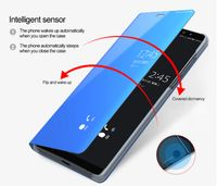 Husa Samsung Galaxy A50 Smart Clear View Negru