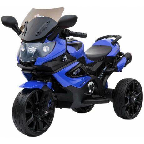 MOTOCICLETA ELECTRICA pt copii LQ168A TRIKE albastra (factura+garantie