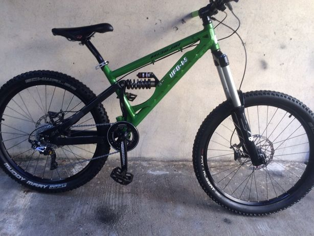 Nicolai ufo-ds,made in germany,downhill,xtr.
