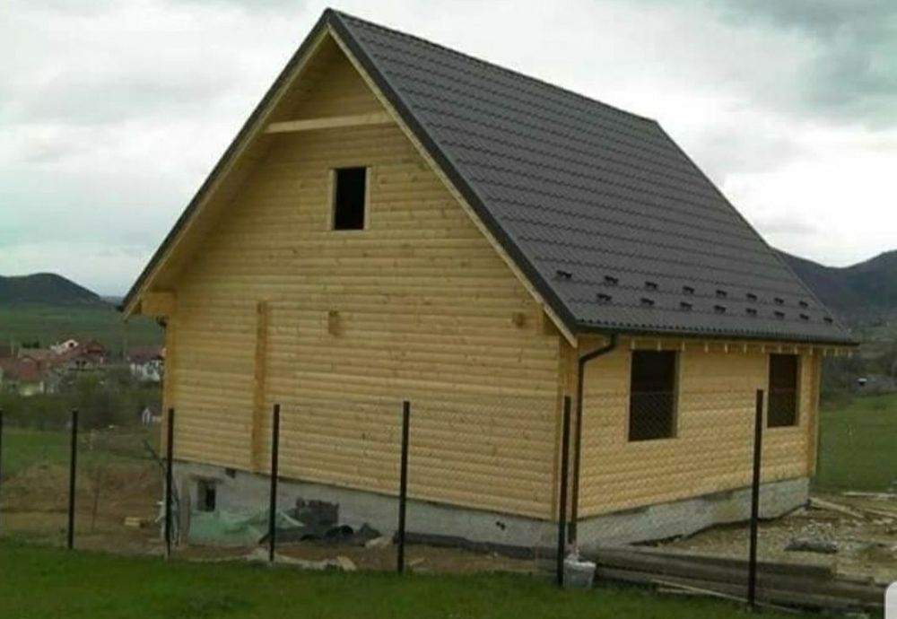 Vand cabane din lemn Cluj-Napoca - imagine 1