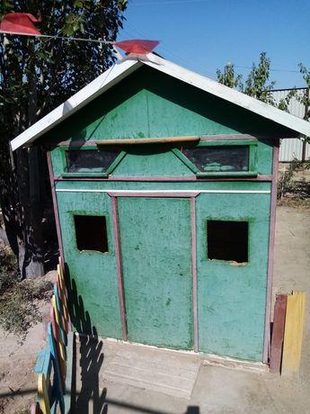 Домик для цыплят