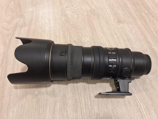 obiectiv nikon 70-200 f2.8 - VR