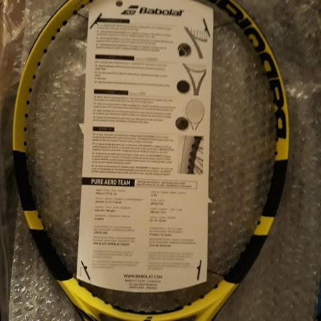 Rachetă tenis Babolat PureAero TEAM 2019