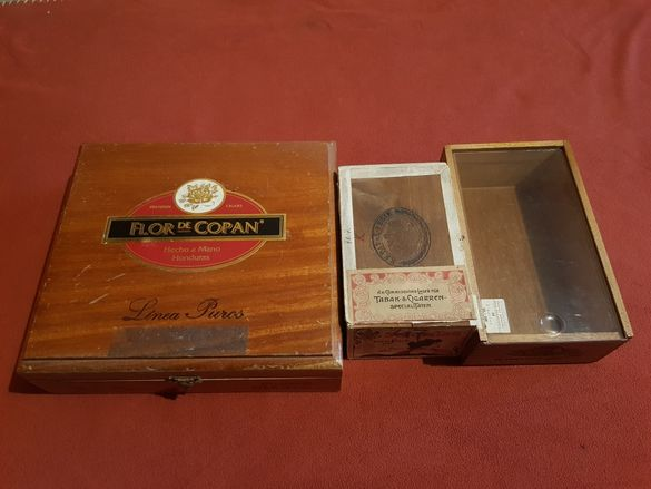 Стари кутии от пури