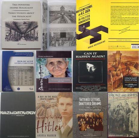 Carti istorie , DVD uri Holocaust ghiduri didactice mini biblioteca