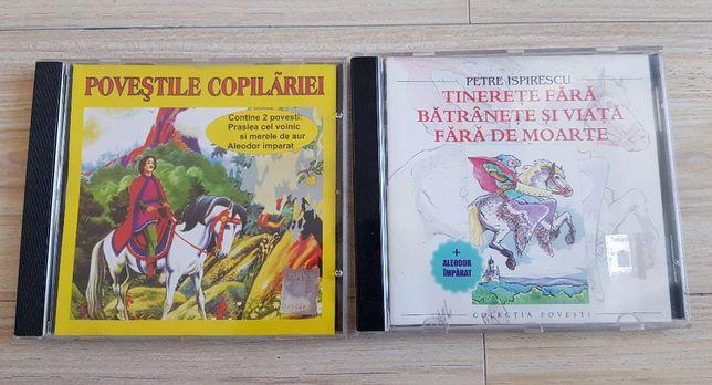 CD-uri Audio Povestile Copilariei Petre Ispirescu Povesti pentru Copii
