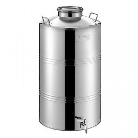 Butoi inox depozitare/transport Lacerta 125 litri - Transport în Țară