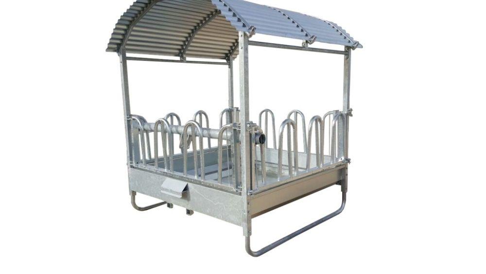 Hranitor rectangular pentru vaci si cai