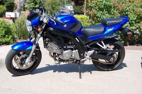 Сузуки СВ 650 2007г. Мотоциклет НА ЧАСТИ