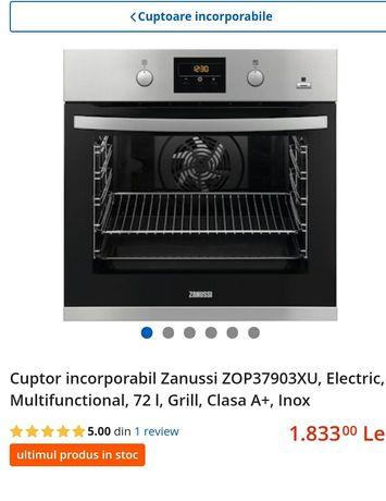 Vand cuptor incorporabil cu abur Zanussi ZOP37903xu